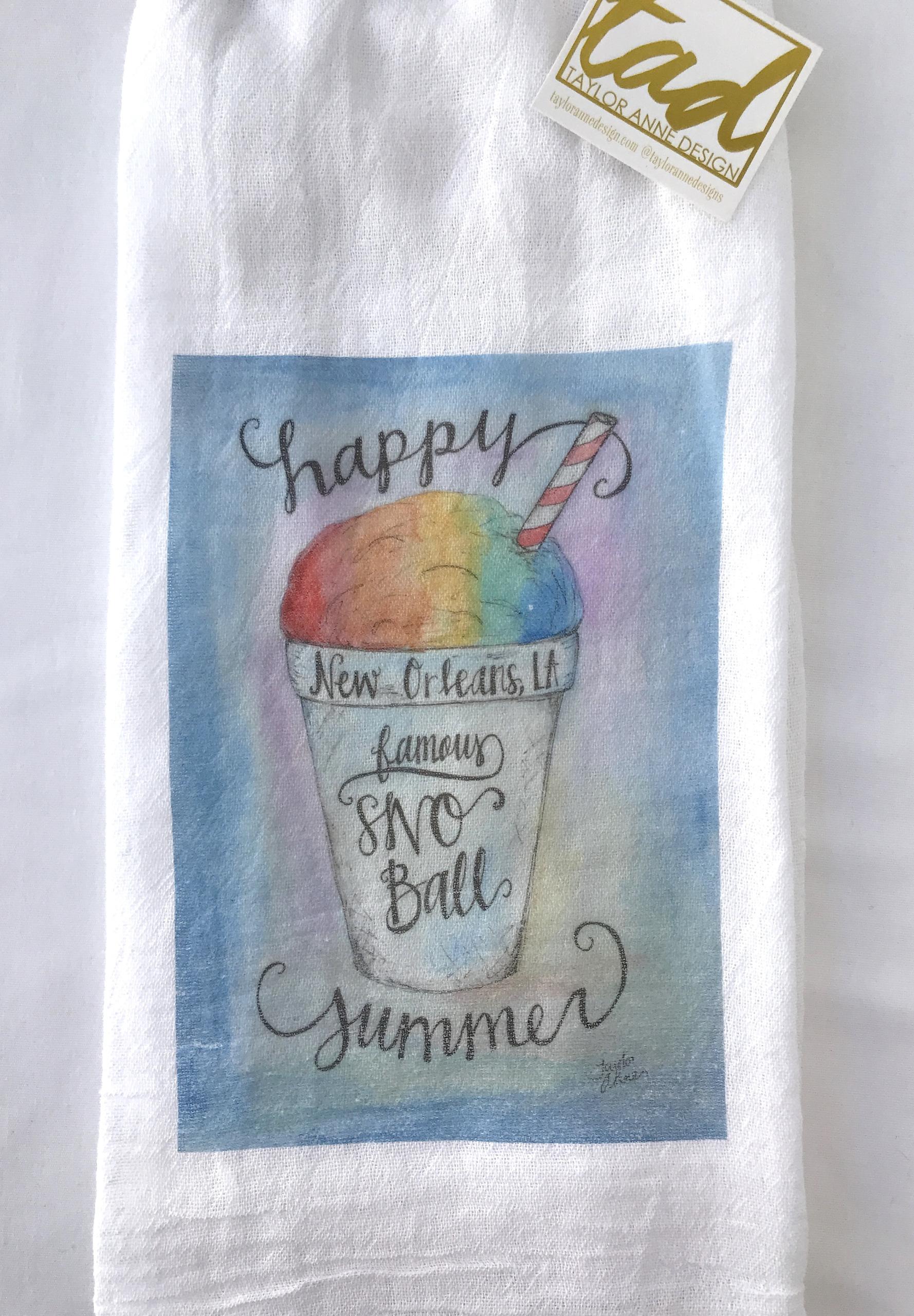 Flour Sack Tea Towels by Taylor Anne